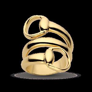 YBC233961002, Gucci, Кольцо, Коллекция Horsebit