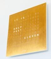 QlockTwo CLASSIC Gold